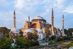 Aya Sofia mosque at Istanbul - Tuekey