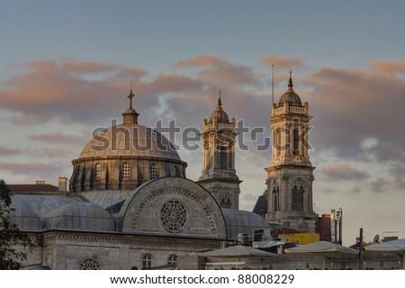 Aya Triada orthodox church in Taksim, Istanbul