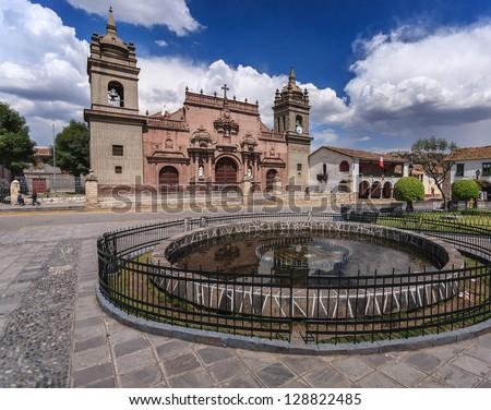 Ayacucho, Peru: view of one of the ayacucho churchs