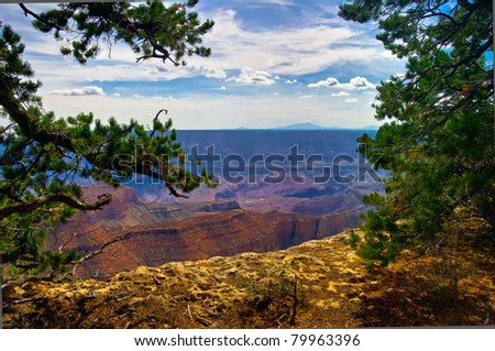 AZ-Grand Canyon-North Rim-WidforssTrail.  Some of the most spectacular views of the Grand Canyon are found on this quiet, scenic trail.