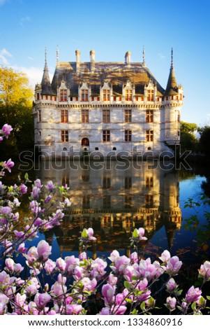 Azay-le-Rideau chateau, France #1334860916