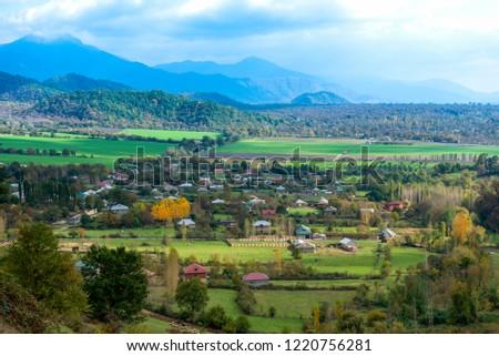 Azerbaijan Qabala Hazra Village