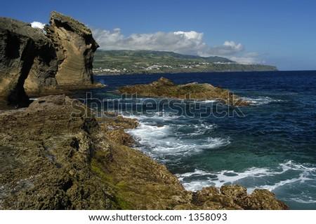 azores coast detail