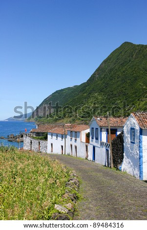 Azores typical houses