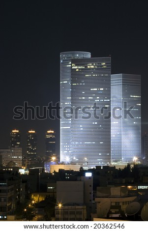 Azrieli tower, Tel Aviv, Israel