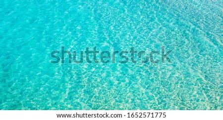 Azure clean water natural pattern