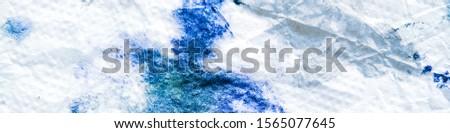 Azure Dirty Art Batik Acrylic Pattern. Azure Aquarelle Psychedelic Carpet Grunge Painting. Breeze Aquarelle Abstract Dirty Art Canva. Abstract Cloud Tie Dyeing Texture