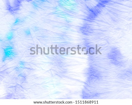 Azure Dirty art. Trendy tie dye pattern. Ink blur. White Warp. Fashion Design. Paper Art. Gray Brushstrokes on Painting Background. Abstract Artistic Background.