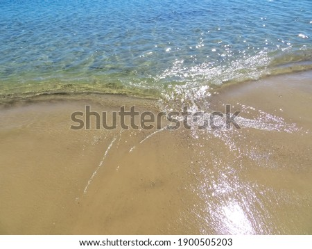 azure sea background on a sunny day Сток-фото ©