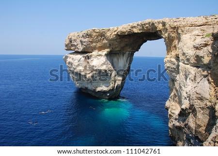 Azure Window - stock photo