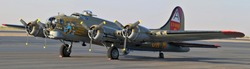 B-17 Bomber plane from WW2