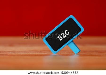 B2C, Business Concept #530946352