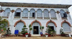 Bạch Dinh (Villa Blanche) in Vung Tau city. View of the old white hous. Vietnam. South-East Asia.