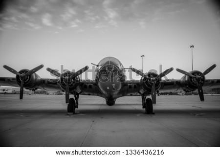 B-17 Memphis Bell airshow 2018