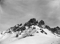 B&W Snow Mountain Meribel, France