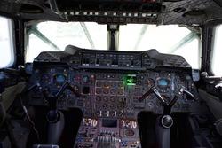 BA Concorde Flight Deck at New York's Intrepid