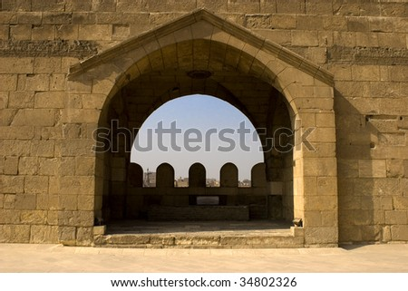 Bab Zuweila Is A Medieval Gate In Cairo Which Is Still
