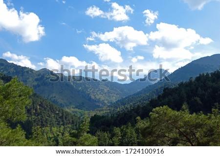 Babadag Mountain top view in Spring Stok fotoğraf ©