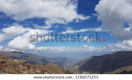 Babusar Top Mountain 13000 Feet ASL KPK Pakistan #1186075255