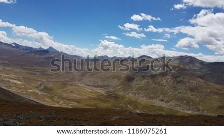 Babusar Top Mountain 13000 Feet ASL KPK Pakistan #1186075261