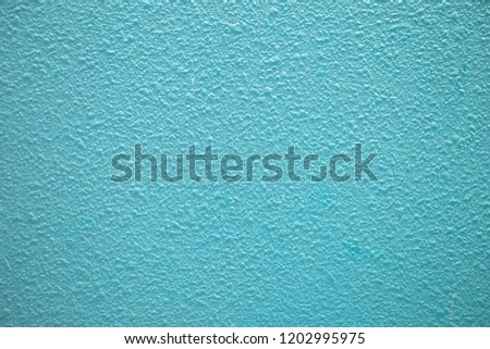 Baby blue cement or concrete wall texture and background seamless