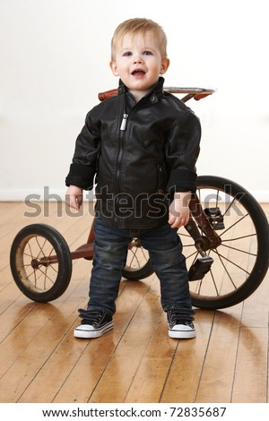 Baby Leather Jacket