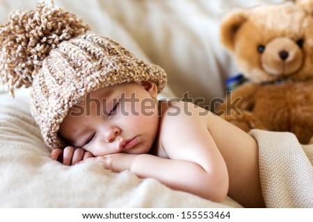 Baby boy, sleeping