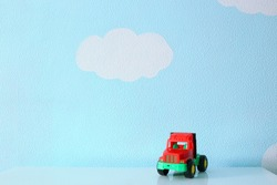 baby car toy background
