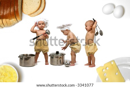 Baby chef - kitchen