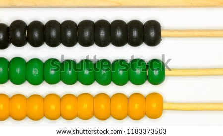 baby colored abacus toy / background image educational educational educational educational game