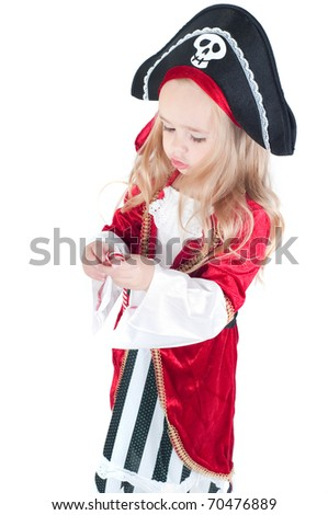 Baby girl dressed up for Christams - stock photo
