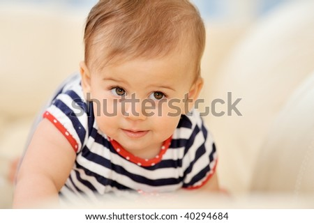 baby girl portrait #40294684