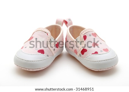 Baby Girls Shoe on Baby Girl Shoes Stock Photo 31468951   Shutterstock