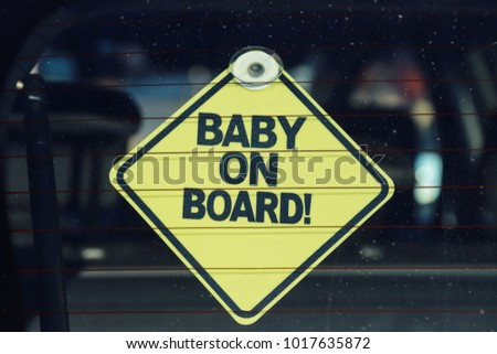 Baby on board!  #1017635872