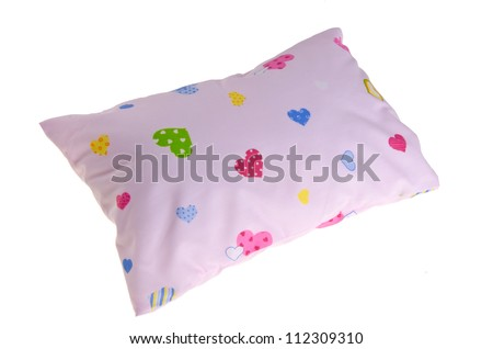 baby pillow, small pillow for the baby