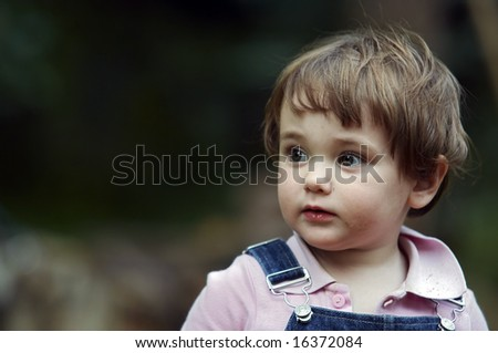 Baby - Puzzled Face Stock Photo 16372084 : Shutterstock