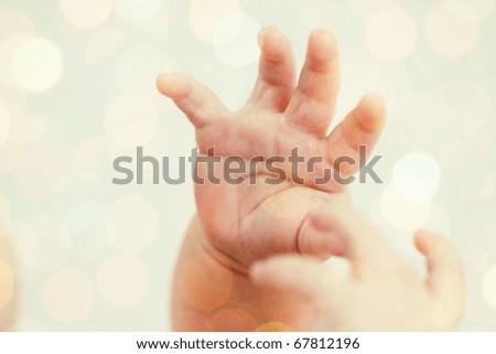 Baby's hands