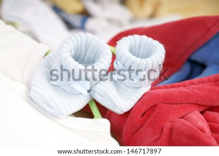 Baby Shoes and Baby Clothes / baby stuff