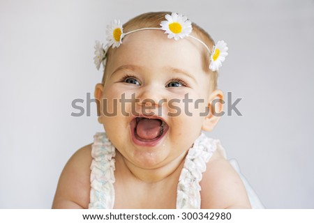 Baby smile -  Image stock #300342980