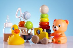 Baby toys and equipment