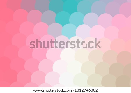 Babyish colors dotted pattern