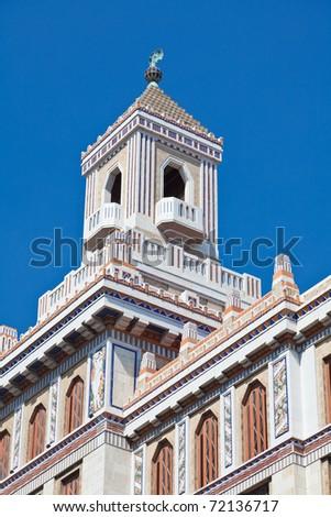 Bacardi Building in old Havana, Cuba