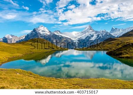 Bachalpsee Lake in Switzerland #403715017