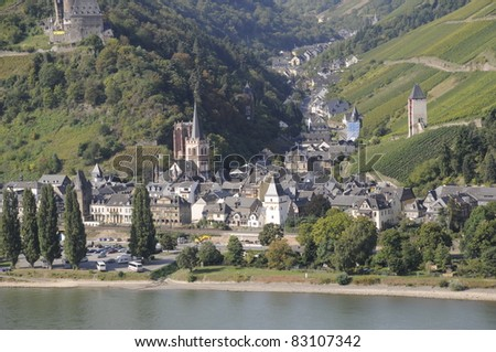 Bacharach, Rhine, Germany