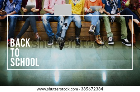 Back to School Education Knowledge College University Concept