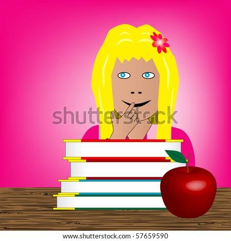 Back to school - girl