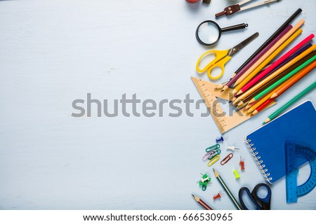 back to school. items for the...