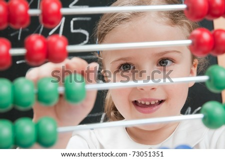 Back to school - mathematics lesson