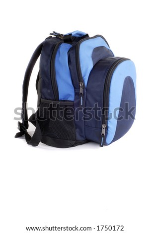 Back To School New Backpack, (Isolated)