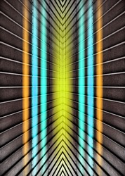 Back to the 80s style, abstract neon vintage design background with lights, beautiful retro futuristic neon style with colored lines